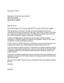 Cover Letter For Nursing Home by 34 Wining Cover Letter Sles For Nursing Vntask