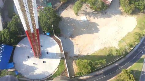 400 Feet by Six Flags Over Texas Skyscreamer Reaction Video 400 Feet