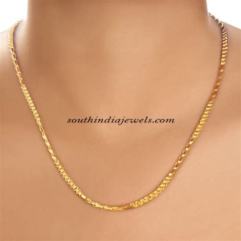 chain designs gold chains from tanishq south india jewels
