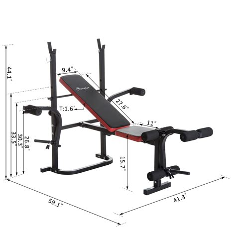multi function weight bench soozier multi function adjustable weight training bench