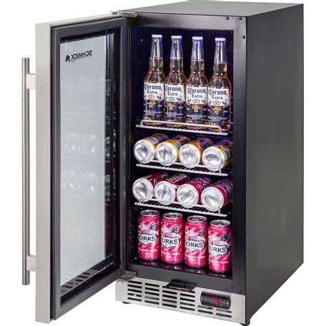 under bench bar fridge glass door front venting glass door bar fridge very quiet operation