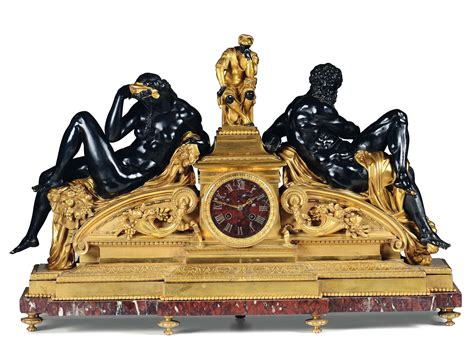 orologi da camino pendola da camino in bronzo e marmo rosso francia xix