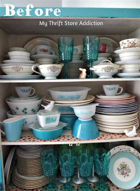 thrift store china cabinet my thrift store addiction how to transform shelves with