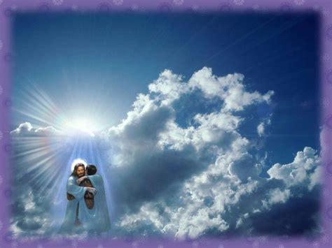 imagenes de jesucristo en el cielo jes 250 s quiere que est 233 s para siempre con el en el cielo