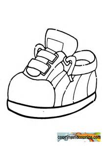 shoe coloring pages shoe coloring pages for preschool coloring pages