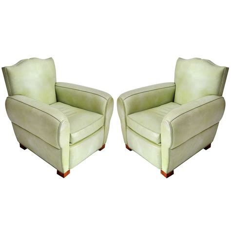 Mint Green Leather Sofa Mint Green Leather Midcentury Quot Mustache Quot Chair At 1stdibs