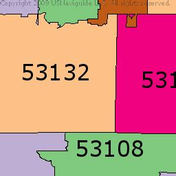 zip code map milwaukee milwaukee zip code map my blog