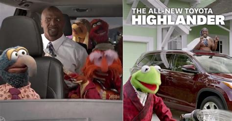 daily commercials the best commercials toyota highlander muppets photos super bowl 2014 top