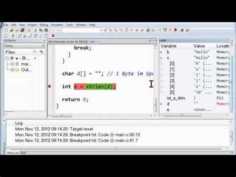 c tutorial zeiger 03b 1 funktionen in c deklaration definition while