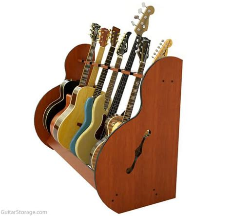 Guitar Rack Wood by The Session Standard Guitar Stands