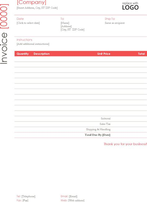 invoice template for self employed self employed invoice templates free premium