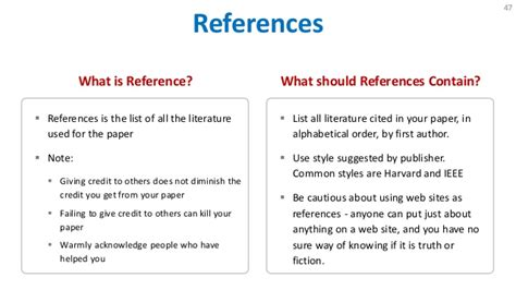 How To Do References In A Research Paper by How To Write Research Paper