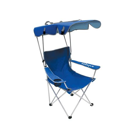 C Chairs With Canopy by Kelsyus Convertible Canopy Chair Blue