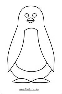 printable penguin template one of the penguin templates i use pinteres