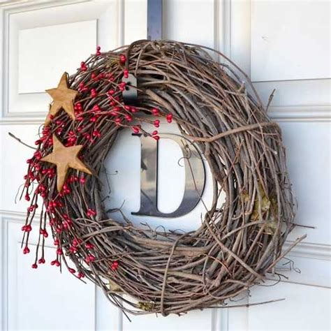 diy twig wreath diy christmas wreaths for front door simple holiday twig