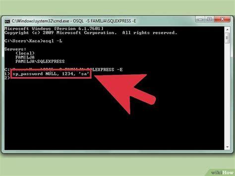 ver imagenes guardadas en sql server 4 formas de restaurar la contrase 241 a sa en el servidor sql