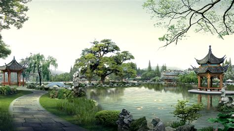 Home Design 3d Sur Pc by Download Wallpaper 1920x1080 China Nature Buildings