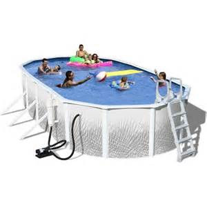 Oval 12 x 48 quot deep complete above ground swimming pool walmart com