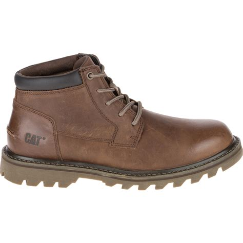 mens jelly boots cat mens doubleday brown leather lace up boot cat from