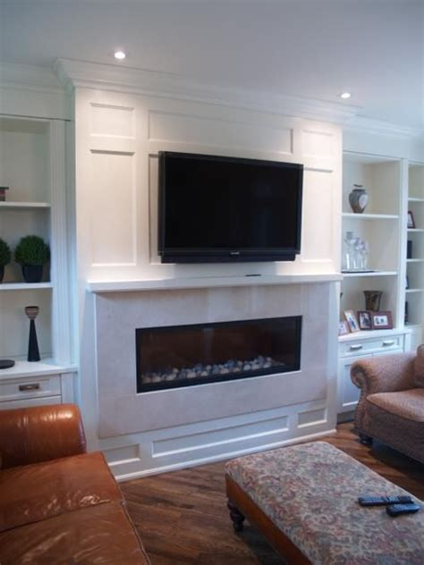 gas fireplace with built in cabinets best 25 fireplace tv wall ideas on tv