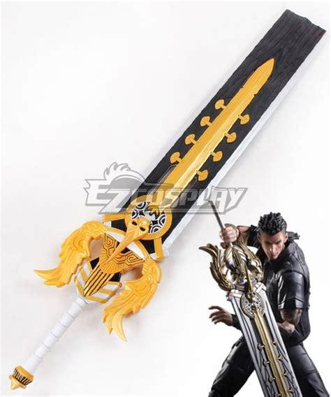 final fantasy xv ffxv gladiolus amicitia sword cosplay