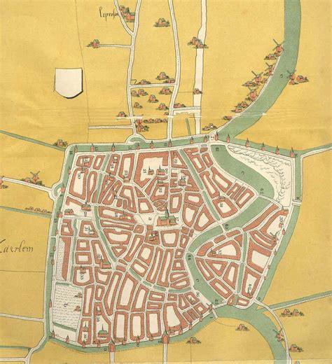 doodle do lahore haarlem plan de la ciudad mapas imprimidos de haarlem