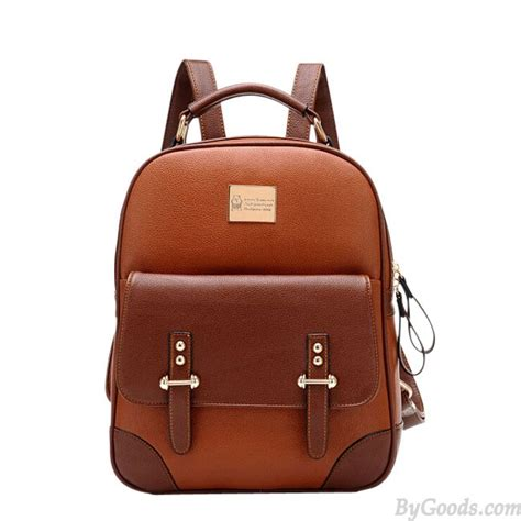 rucksack style new style vintage leather backpack fashion