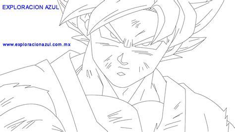 imagenes en blanco y negro de gocu dibujos para colorear p 225 gina web de exploracionazul
