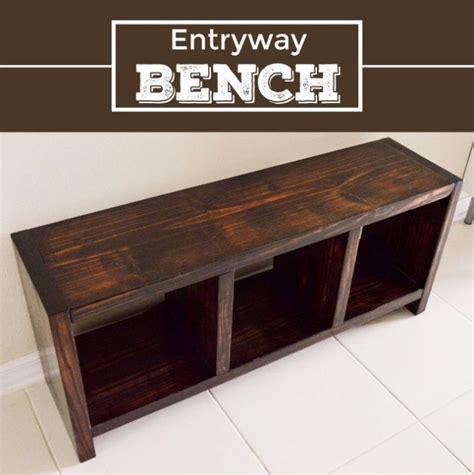 bench for entrance way 35 impressive diys you need at your entry diy joy