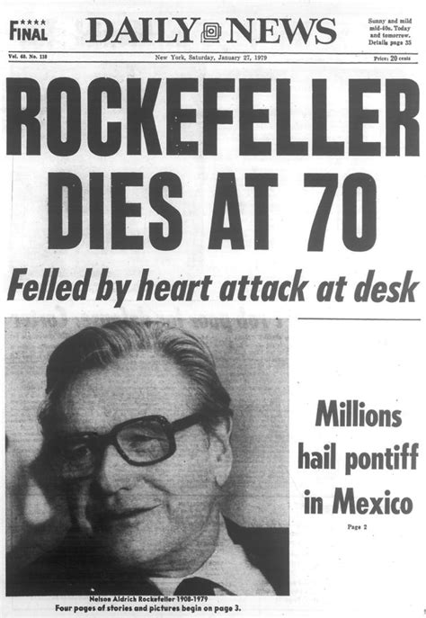 new year january 1979 nelson rockefeller dies after a attack in 1979 ny
