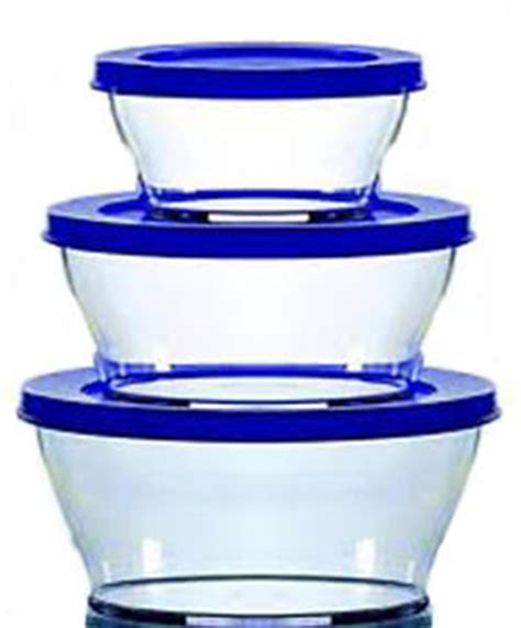 Tupperware Clear Bowl Set 2 tupperware clear bowl set set of 3 bowls blue lids ebay