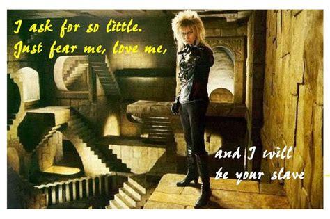 film labyrinth quotes labyrinth quotes jareth quotesgram