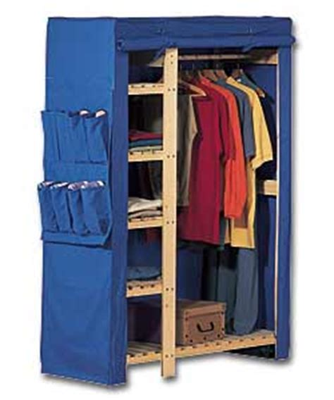 Canvas Covered Wardrobe by Wardrobe With Blue Canvas Cover Wardrobe Review