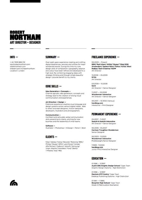 21 Best Images About Well Designed Resumes On Cleanses Behance And Self Promotion 21 Best Well Designed Resumes Images On