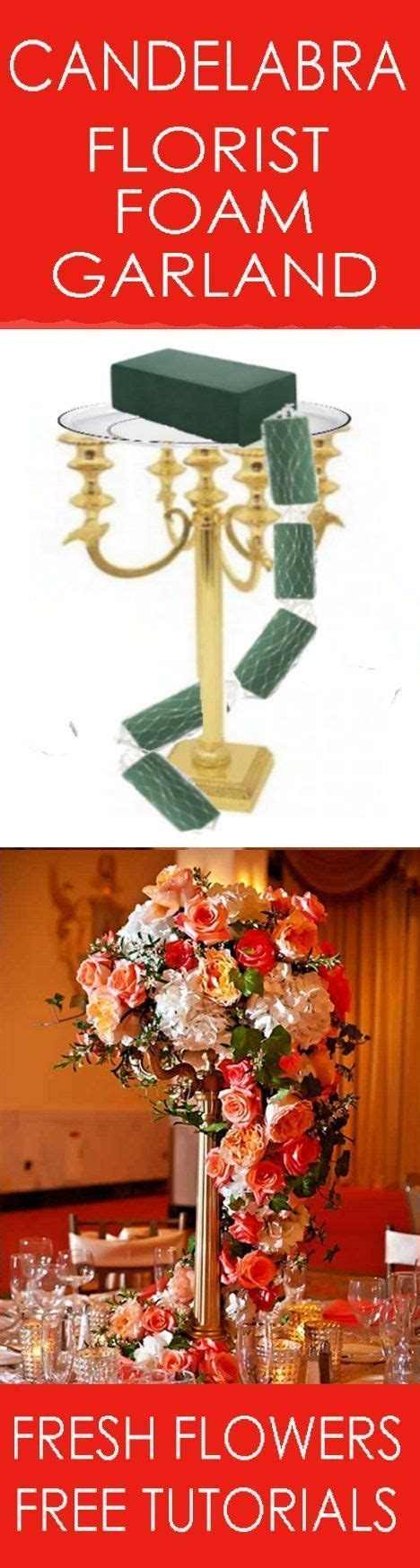 25  best ideas about Candelabra flowers on Pinterest