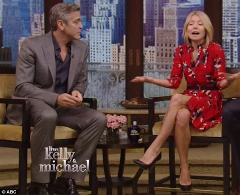 kelly ripa goes make up free as she arrives home after fronting kelly ripa goes make up free to interview george clooney