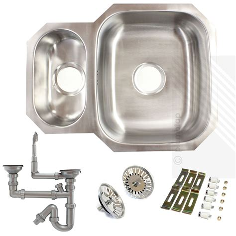 bowl stainless steel kitchen sink premium undermount 1 5 bowl stainless steel kitchen sink