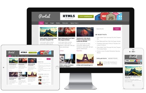 theme blog responsive wordpress 10 free wordpress responsive themes from mythemeshop