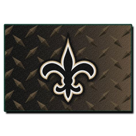 saints rug new orleans saints nfl 20 quot x 30 quot tufted rug