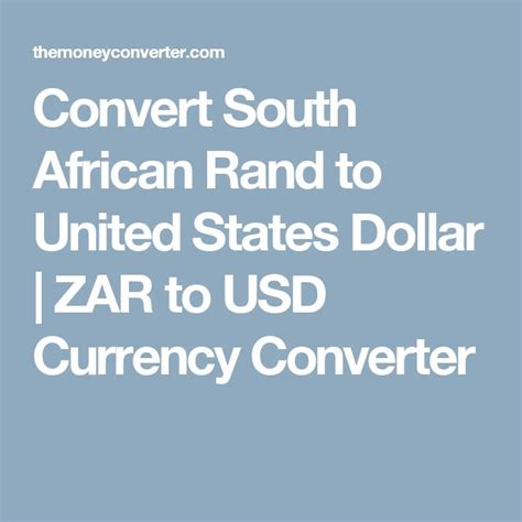 currency converter rand to usd convert south african rand to united states dollar zar