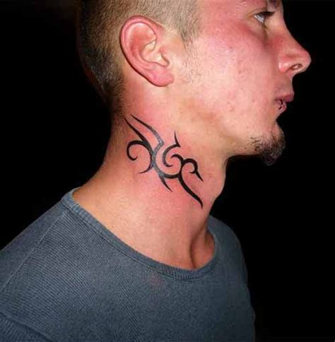 tribal neck tattoos designs 10 neck ideas for small tribal neck