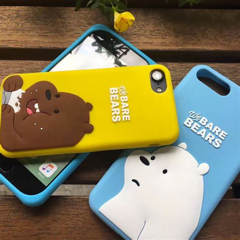 case osos escandalosos  bare bears iphone