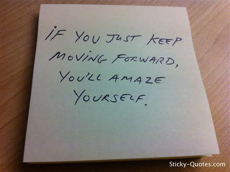 Moving A By Yourself by Keep Moving Quotes Quotesgram