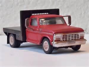 Farm Truck Wheels 1 64 Custom 79 Ford Flatbed 1 Ton For Dcp Ertl Farm
