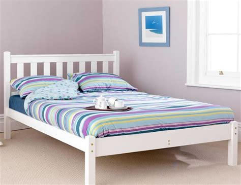 shaker bed frame shaker white bed frame