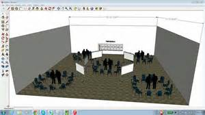 Building Floor Plan Software Free Download how to use sketchup to create an event layout youtube