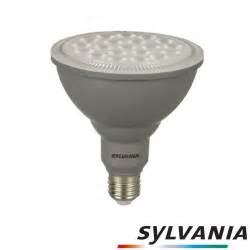 sylvania outdoor lighting sylvania refled par38 dimmable e27 led 16w 1400lm 3000k