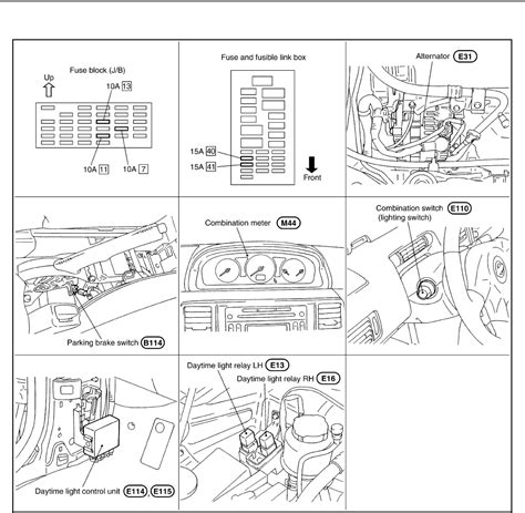 nissan x trail fuse box diagram wiring diagram schemes