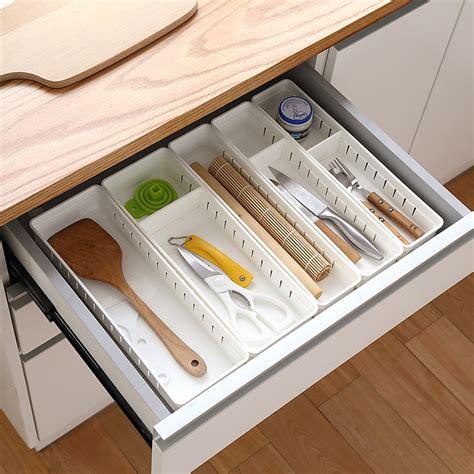 Home Depot Kitchen Drawer Organizer by Aliexpress Buy Adjustable New Drawer Organizer Home