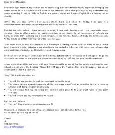 cover letter exles nz cover letter part 4 an exle
